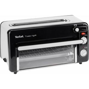 2-in-1-Toaster Toast n Grill und Mini-Ofen, schwarz, Tefal