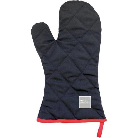 Grillhandschuhe »3963 Outdoor«, 20x33 cm (BxL), Öko-Tex®-zertifiziert, Apelt, schwarz, Material Polyester, Baumwolle, Polyacryl, strapazierfähig