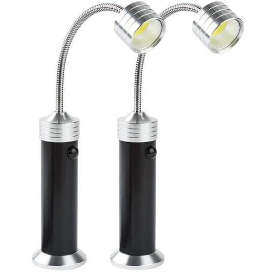 GRILLMEISTER LED-Grillleuchte, 2 Stück, magnetisch
