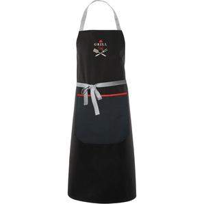 Grillschürze »3963 Outdoor, GRILL Chef«, schwarz, 90x102cm, Öko-Tex-Zertifikat, , , APELT
