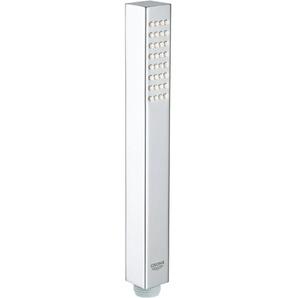 Grohe Handbrause Euphoria Cube+ Stick, Normalstrahl, mit Durchflusskontanthalter Einheitsgröße silberfarben Duschbrausen Duschen Bad Sanitär
