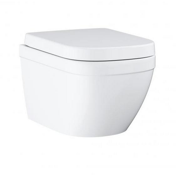Grohe Wand-WC-Set Eurokeramik spülrandlos weiß inkl. Sitz