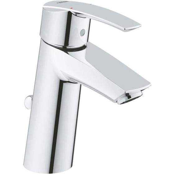 Grohe Waschtischarmatur Start Größe M, Einhebelmischer, Wasserhahn B/H/T: 6,6 cm x 25,5 24 silberfarben Waschtischarmaturen Badarmaturen Bad Sanitär