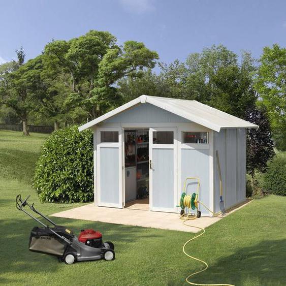 Grosfillex Gartengerätehaus »Utility V7,5«, gegen Verwitterung und UV-Strahlung
