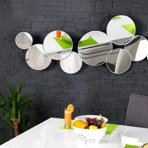 Großer Design Wandspiegel REDONDO 145cm variabel aufhängbar