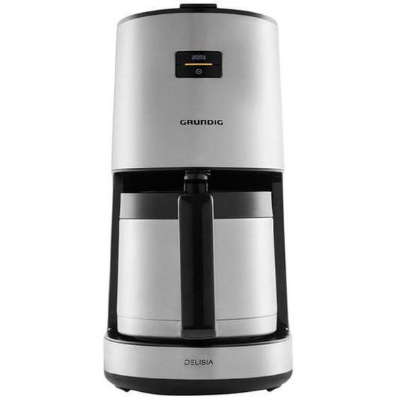 GRUNDIG Kaffeemaschine »DELISIA KM 8680«, mit Thermokanne für 1,25 Liter und Aroma Control