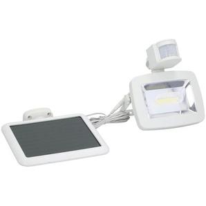 Grundig Solarlampe mit Bewegungssensor , Weiß , Kunststoff , 18x18x19 cm