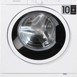 Waschmaschine GWO 37430 WB, Fassungsvermögen: 7 kg, weiß, rund, Energieeffizienzklasse: A+++, Grundig