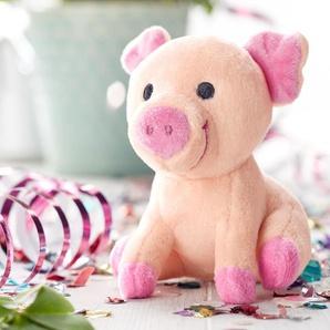 Grunzendes Glücksschweinchen