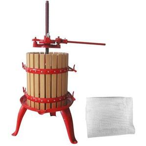 Güde Obstpresse, 47 oder 68 Liter Fassungsvermögen, mechanisch, mit Stahlspindel