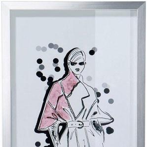 Guido Maria Kretschmer Home&Living Bild »Bild«, mit silbernem Rahmen, 23/50 cm