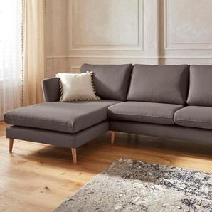 Guido Maria Kretschmer Home&Living Ecksofa »Cergy«, in skandinavischem Stil mit Beinen aus Eiche