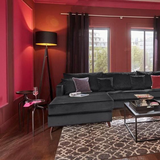 Guido Maria Kretschmer Home&Living Ecksofa »Renesse«, lose Kissen, Keder an Sitzkissen