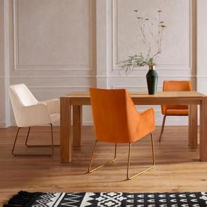 Guido Maria Kretschmer Home&Living Esstisch »Sevran«, aus massiver Wildeiche, in unterschiedlichen Tischbreiten und zwei Farbvarianten