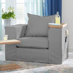 Guido Maria Kretschmer Home&Living Sessel »Maarja«, mit Taschen an der Außenseite