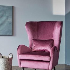 GMK Home & Living Sessel «Salla», wahlweise mit oder ohne Hocker