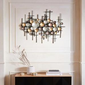 Guido Maria Kretschmer Home&Living Wanddekoobjekt Lightlex, Wanddeko, Wanddekoration, aus Metall B/H/T: 102 cm x 82 7 bunt Wanddekoration Deko Wohnaccessoires