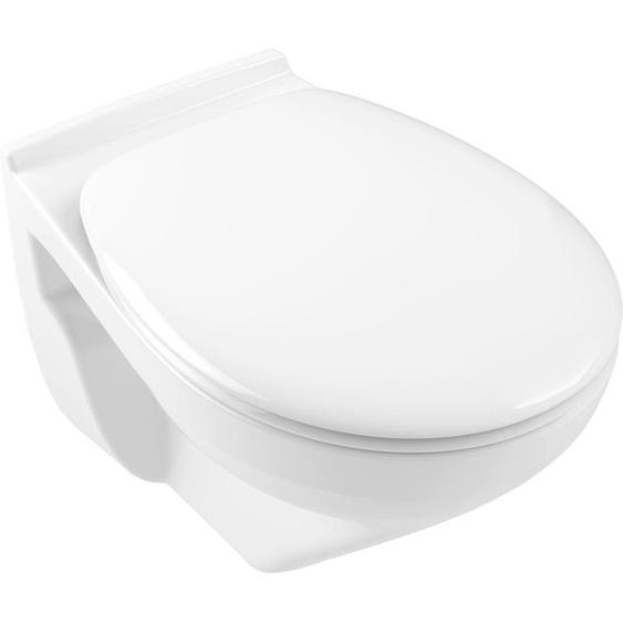 Gustavsberg Tiefspül-WC Saval 2.0, wandhängend Einheitsgröße weiß WC-Becken WC Bad Sanitär