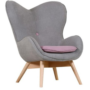 Gutmann Factory Sessel, Grau, Stoff