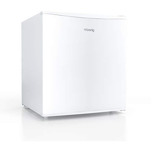 H.KOENIG FGX480 freistehender Minikühlschrank weiss