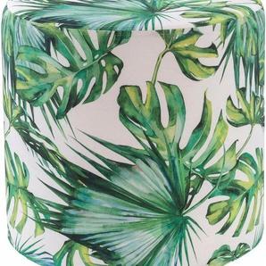 H.O.C.K. Hocker »Beach Life rund« (1 St), Ø45/45 cm, grün
