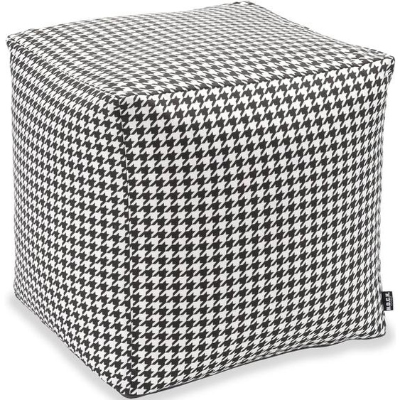 H.O.C.K. Hocker Pictave (1 Stück) Maße (B/T/H): 45/45/45 cm schwarz Sitzkissen Sitzwürfel