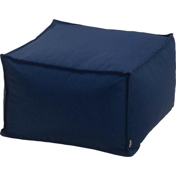 H.O.C.K. Sitzsack »Blobby« (1 St), 55/55/35 cm, blau