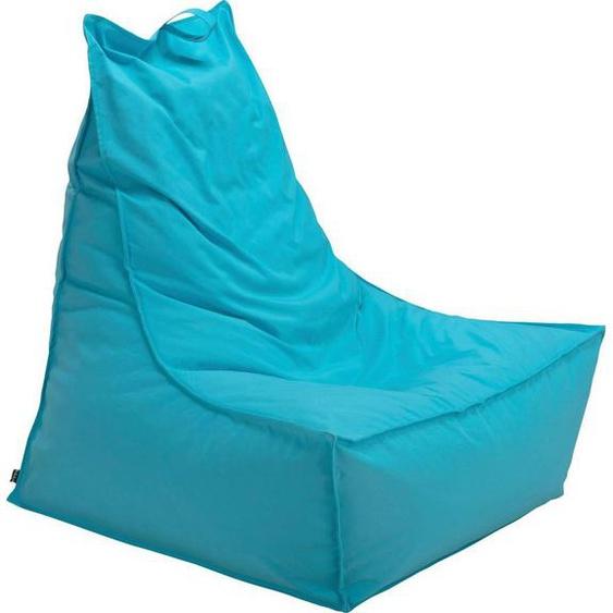 H.O.C.K. Sitzsack »Blobby« (1 St), 95/95/80 cm, blau