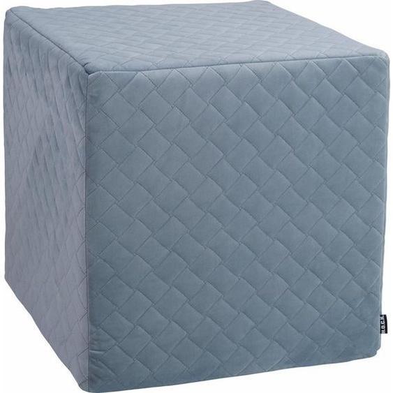 H.O.C.K. Sitzwürfel »Soft Nobile«, 45/45/45 cm, blau