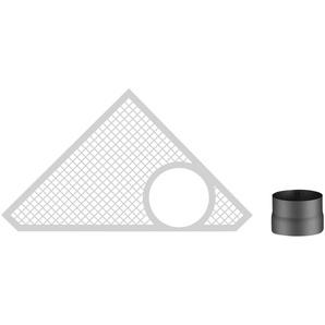 HAAS+SOHN Rauchrohr-Set 150 mm