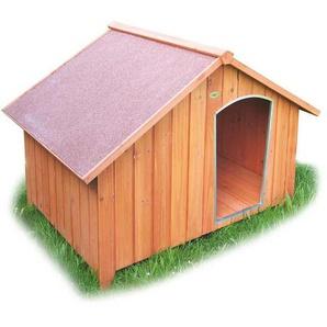 Habau Collie Hundehütte 127x101x95 cm Braun