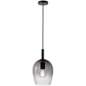 Hängeleuchte , Bernstein , Glas , 18x30.5 cm , Innenbeleuchtung, Pendelleuchten