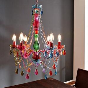 Hängeleuchte Gypsy 55 cm Starlight-Multi-Rainbow Bunt, Kronleuchter