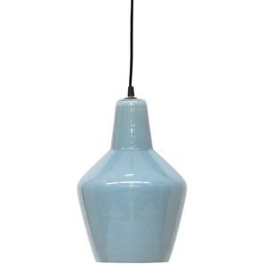 Hängeleuchten in Blau Keramik (4er Set)