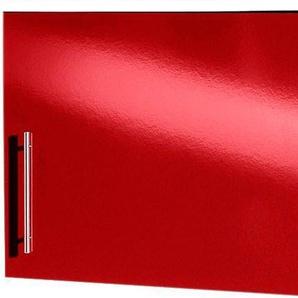 Hängeschrank »Aachen«, rot, Rot Glanz, wiho Küchen