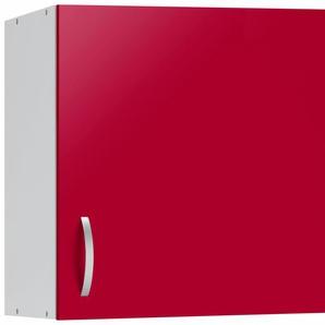 Hängeschrank »Amrum«, rot, Rot Glanz, wiho Küchen