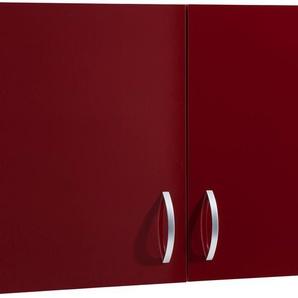 Hängeschrank »Flexi«, rot, Rot Glanz, wiho Küchen