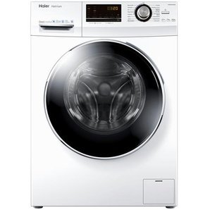 Haier Waschvollautomat  HW90-B14636 - weiß - Glas , Edelstahl, Metall-lackiert, Kunststoff - 59,5 cm - 85 cm - 55 cm   Möbel Kraft