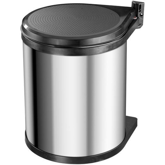 Hailo Einbau-Abfalleimer Compact-Box M 15 l edelstahl