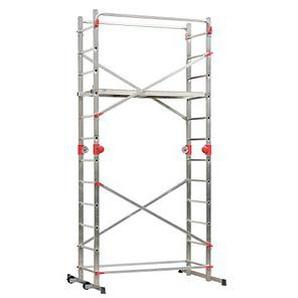 Hailo Gerüst 1-2-3 Combi 500 Arbeitshöhe 4,35 m