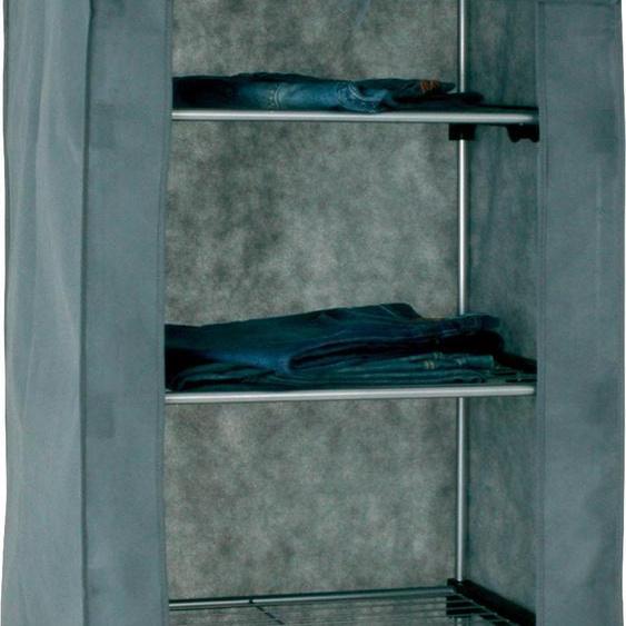 HAKU Garderobenständer 60x50x173 cm grau Kompaktgarderoben Garderoben
