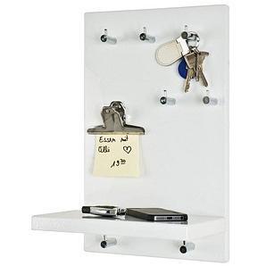 HAKU Möbel Schlüsselbrett mit 7 Haken