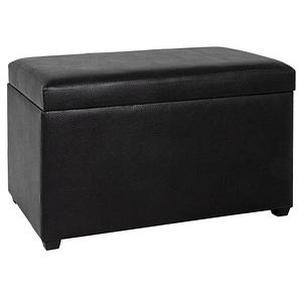 HAKU Möbel Sitztruhe schwarz