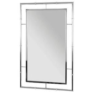 HAKU Möbel Spiegel   silber