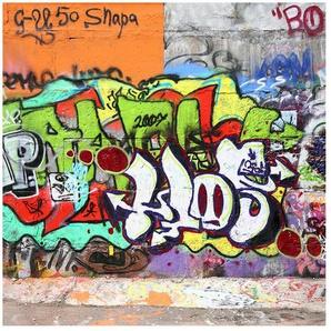 Halbglänzende Tapete Graffiti