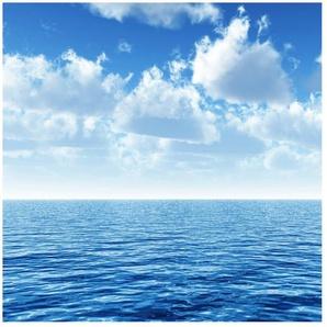 Halbglänzende Tapete Meer Shining Ocean