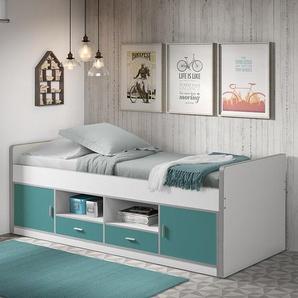 abenteuerliche halbhochbetten bei moebel24. Black Bedroom Furniture Sets. Home Design Ideas