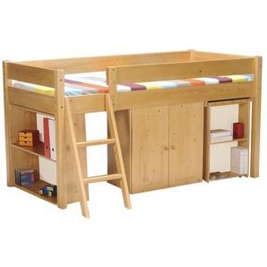 Halbhochbett Edna mit Möbel-Set, 90 x 190 cm