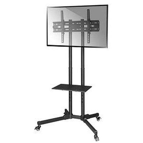hama TV-Ständer mit Rollen Trolley schwarz