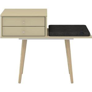 hammel Sitzbank »MISTRAL«, mit Schubladen und einem Sitzkissen, Breite 89 cm, Danish Design